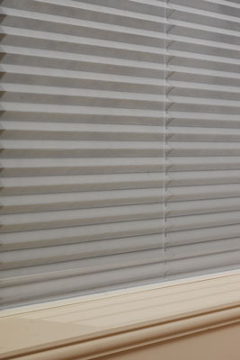 aspect pleated blinds