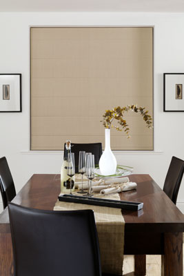 camico biscuit roman blind