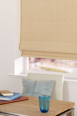 florence gold roman blind