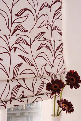 lily aug roman blind