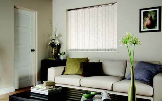 papaya parchment vertical blinds