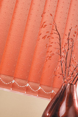 pearl copper vertical blind