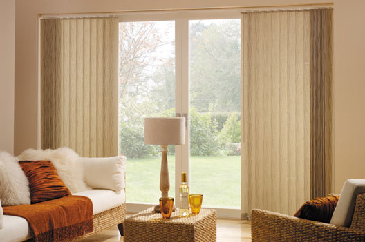 retro bisque vertical blind