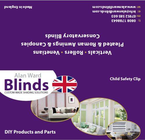 child safety clip for blind